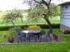 Die Terrasse im Frühling